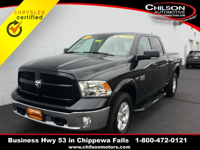 Certified Used 2016 Ram 1500 Outdoorsman For Sale in Chippewa Falls WI |  VIN: 1C6RR7TT7GS325472