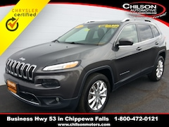 2015 Jeep Cherokee Limited SUV for sale at Chilson Chrysler Dodge Jeep near Eau Claire, WI