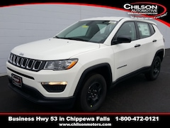 new 2020 Jeep Compass SPORT 4X4 Sport Utility 3C4NJDAB4LT210084 for sale near Eau Claire at Chilson Chrysler Dodge Jeep Ram FIAT