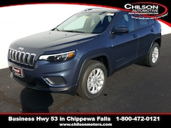 new 2020 Jeep Cherokee LATITUDE 4X4 Sport Utility 1C4PJMCBXLD529534 for sale near Eau Claire at Chilson Chrysler Dodge Jeep Ram FIAT