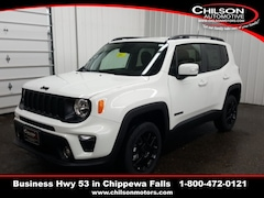 new 2020 Jeep Renegade ALTITUDE 4X4 Sport Utility ZACNJBBB9LPL34634 for sale near Eau Claire at Chilson Chrysler Dodge Jeep Ram FIAT