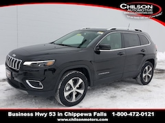 New 2019 Jeep Cherokee LIMITED 4X4 Sport Utility 1C4PJMDX4KD390896 for sale near Eau Claire at Chilson Chrysler Dodge Jeep Ram FIAT