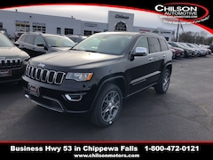 New 2019 Jeep Grand Cherokee LIMITED 4X4 Sport Utility 1C4RJFBG6KC574444 for sale near Eau Claire at Chilson Chrysler Dodge Jeep Ram FIAT