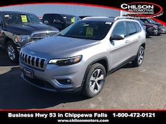 new 2019 Jeep Cherokee LIMITED 4X4 Sport Utility 1C4PJMDN1KD117123 for sale near Eau Claire at Chilson Chrysler Dodge Jeep Ram FIAT