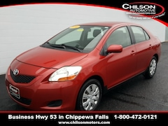 Used 2010 Toyota Yaris Base Sedan JTDBT4K31A1388897 for sale near Eau Claire at Chilson Chrysler Dodge Jeep Ram FIAT