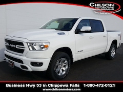 new 2020 Ram 1500 BIG HORN CREW CAB 4X4 5'7 BOX Crew Cab 1C6SRFFT8LN106522 for sale near Eau Claire at Chilson Chrysler Dodge Jeep Ram FIAT