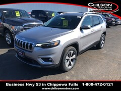 New 2019 Jeep Cherokee LIMITED 4X4 Sport Utility for sale near Eau Claire at Chilson Chrysler Dodge Jeep Ram FIAT