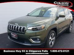 New 2020 Jeep Cherokee LIMITED 4X4 Sport Utility 1C4PJMDXXLD636027 for sale in Chippewa Falls, WI