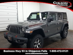 new 2020 Jeep Wrangler UNLIMITED RUBICON 4X4 Sport Utility 1C4HJXFG2LW239175 for sale near Eau Claire at Chilson Chrysler Dodge Jeep Ram FIAT