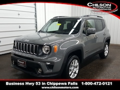 new 2020 Jeep Renegade LATITUDE 4X4 Sport Utility ZACNJBBB6LPL33831 for sale near Eau Claire at Chilson Chrysler Dodge Jeep Ram FIAT