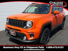 new 2019 Jeep Renegade ALTITUDE 4X4 Sport Utility ZACNJBBBXKPK71509 for sale near Eau Claire at Chilson Chrysler Dodge Jeep Ram FIAT
