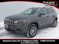 New 2019 Jeep Cherokee LATITUDE PLUS 4X4 Sport Utility 1C4PJMLX4KD391385 for sale near Eau Claire at Chilson Chrysler Dodge Jeep Ram FIAT