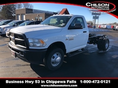 New 2018 Ram 3500 TRADESMAN CHASSIS REGULAR CAB 4X4 167.5 WB Regular Cab 3C7WRTBL1JG376327 for sale near Eau Claire at Chilson Chrysler Dodge Jeep Ram FIAT