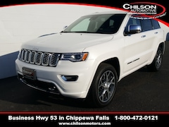 new 2020 Jeep Grand Cherokee OVERLAND 4X4 Sport Utility 1C4RJFCG5LC147823 for sale near Eau Claire at Chilson Chrysler Dodge Jeep Ram FIAT