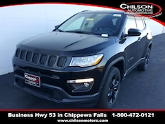 new 2020 Jeep Compass ALTITUDE 4X4 Sport Utility 3C4NJDBB2LT147016 for sale near Eau Claire at Chilson Chrysler Dodge Jeep Ram FIAT