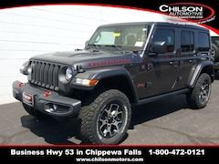 new 2020 Jeep Wrangler UNLIMITED RUBICON 4X4 Sport Utility 1C4HJXFG3LW300226 for sale near Eau Claire at Chilson Chrysler Dodge Jeep Ram FIAT