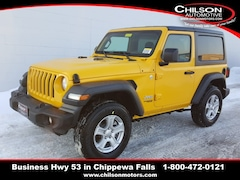 New 2019 Jeep Wrangler SPORT S 4X4 Sport Utility 1C4GJXAG6KW579611 for sale near Eau Claire at Chilson Chrysler Dodge Jeep Ram FIAT