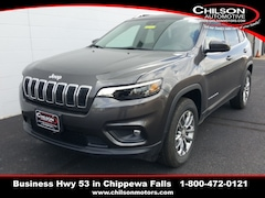 new 2020 Jeep Cherokee LATITUDE LUX 4X4 Sport Utility 1C4PJMLX9LD631189 for sale near Eau Claire at Chilson Chrysler Dodge Jeep Ram FIAT