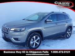 New 2019 Jeep Cherokee LIMITED 4X4 Sport Utility 1C4PJMDX3KD390842 for sale near Eau Claire at Chilson Chrysler Dodge Jeep Ram FIAT