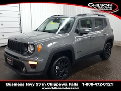 new 2020 Jeep Renegade ALTITUDE 4X4 Sport Utility ZACNJBBB0LPL17852 for sale near Eau Claire at Chilson Chrysler Dodge Jeep Ram FIAT