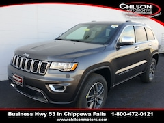 new 2020 Jeep Grand Cherokee LIMITED 4X4 Sport Utility 1C4RJFBG6LC190729 for sale near Eau Claire at Chilson Chrysler Dodge Jeep Ram FIAT