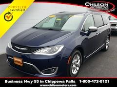 Certified 2018 Chrysler Pacifica Limited Minivan/Van 2C4RC1GG5JR141189 for sale near Eau Claire