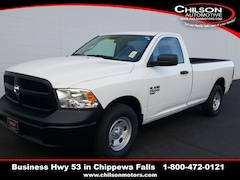 new 2019 Ram 1500 Classic TRADESMAN REGULAR CAB 4X2 8' BOX Regular Cab 3C6JR6DG6KG705895 for sale near Eau Claire at Chilson Chrysler Dodge Jeep Ram FIAT