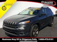 2016 Jeep Cherokee 75th Anniversary Edition SUV for sale at Chilson Chrysler Dodge Jeep near Eau Claire, WI