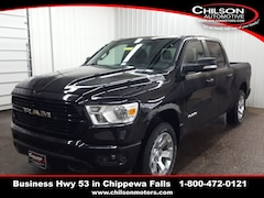 new 2020 Ram 1500 BIG HORN CREW CAB 4X4 5'7 BOX Crew Cab 1C6SRFFT5LN150932 for sale near Eau Claire at Chilson Chrysler Dodge Jeep Ram FIAT