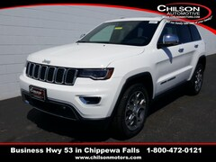 new 2020 Jeep Grand Cherokee LIMITED 4X4 Sport Utility 1C4RJFBG0LC294312 for sale near Eau Claire at Chilson Chrysler Dodge Jeep Ram FIAT