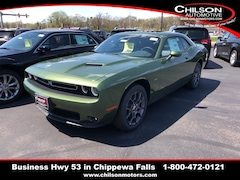 New 2018 Dodge Challenger GT ALL-WHEEL DRIVE Coupe for sale near Eau Claire at Chilson Chrysler Dodge Jeep Ram FIAT