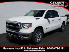 new 2019 Ram All-New 1500 BIG HORN / LONE STAR CREW CAB 4X4 5'7 BOX Crew Cab 1C6SRFFT8KN857957 for sale near Eau Claire at Chilson Chrysler Dodge Jeep Ram FIAT
