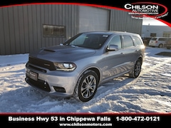 New 2019 Dodge Durango R/T AWD Sport Utility 1C4SDJCT3KC622182 for sale near Eau Claire at Chilson Chrysler Dodge Jeep Ram FIAT