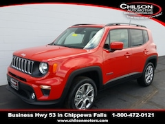 new 2019 Jeep Renegade LATITUDE 4X4 Sport Utility ZACNJBBB7KPK29394 for sale near Eau Claire at Chilson Chrysler Dodge Jeep Ram FIAT