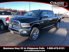 new 2018 Ram 2500 LARAMIE MEGA CAB 4X4 6'4 BOX Mega Cab 3C6UR5NL7JG370941 for sale near Eau Claire at Chilson Chrysler Dodge Jeep Ram FIAT