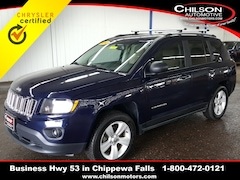 Used 2016 Jeep Compass Sport SUV 1C4NJCBAXGD665081 for sale near Eau Claire at Chilson Chrysler Dodge Jeep Ram FIAT