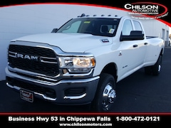 new 2019 Ram 3500 TRADESMAN CREW CAB 4X4 8' BOX Crew Cab 3C63RRGLXKG703215 for sale near Eau Claire at Chilson Chrysler Dodge Jeep Ram FIAT