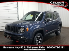 new 2020 Jeep Renegade TRAILHAWK 4X4 Sport Utility for sale near Eau Claire at Chilson Chrysler Dodge Jeep Ram FIAT