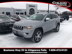 New 2019 Jeep Grand Cherokee LIMITED 4X4 Sport Utility for sale near Eau Claire at Chilson Chrysler Dodge Jeep Ram FIAT