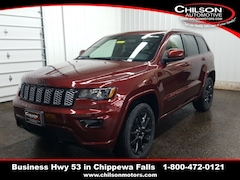 new 2020 Jeep Grand Cherokee ALTITUDE 4X4 Sport Utility 1C4RJFAG7LC208009 for sale near Eau Claire at Chilson Chrysler Dodge Jeep Ram FIAT