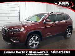 new 2020 Jeep Cherokee LIMITED 4X4 Sport Utility 1C4PJMDX5LD510612 for sale near Eau Claire at Chilson Chrysler Dodge Jeep Ram FIAT
