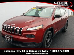 2014 Jeep Cherokee Sport SUV for sale at Chilson Chrysler Dodge Jeep near Eau Claire, WI