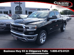 New 2019 Ram 1500 BIG HORN / LONE STAR CREW CAB 4X4 5'7 BOX Crew Cab 1C6SRFFT5KN637403 for sale near Eau Claire at Chilson Chrysler Dodge Jeep Ram FIAT
