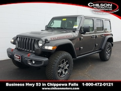 New 2019 Jeep Wrangler UNLIMITED RUBICON 4X4 Sport Utility 1C4HJXFG1KW601026 for sale near Eau Claire at Chilson Chrysler Dodge Jeep Ram FIAT