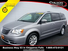 Certified 2016 Chrysler Town & Country Limited Minivan/Van 2C4RC1GG9GR200169 for sale near Eau Claire