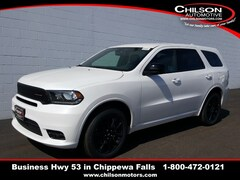 New 2019 Dodge Durango GT AWD Sport Utility 1C4RDJDG5KC664529 for sale near Eau Claire at Chilson Chrysler Dodge Jeep Ram FIAT