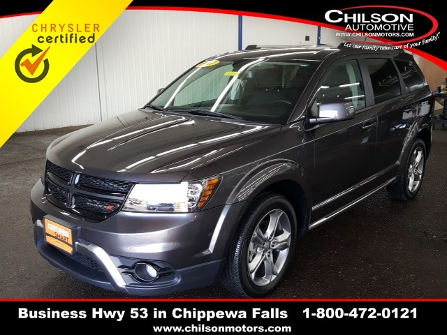 Certified Used 2017 Dodge Journey Crossroad For Sale in Chippewa Falls WI |  VIN: 3C4PDDGG5HT706389