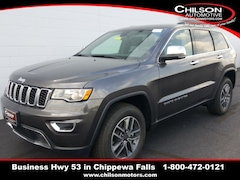 new 2019 Jeep Grand Cherokee LIMITED 4X4 Sport Utility 1C4RJFBG5KC815572 for sale near Eau Claire at Chilson Chrysler Dodge Jeep Ram FIAT