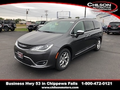 New 2019 Chrysler Pacifica LIMITED Passenger Van for sale near Eau Claire at Chilson Chrysler Dodge Jeep Ram FIAT
