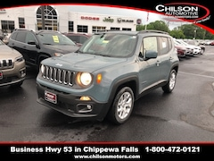 New 2018 Jeep Renegade LATITUDE 4X2 Sport Utility ZACCJABB8JPH46383 for sale near Eau Claire at Chilson Chrysler Dodge Jeep Ram FIAT